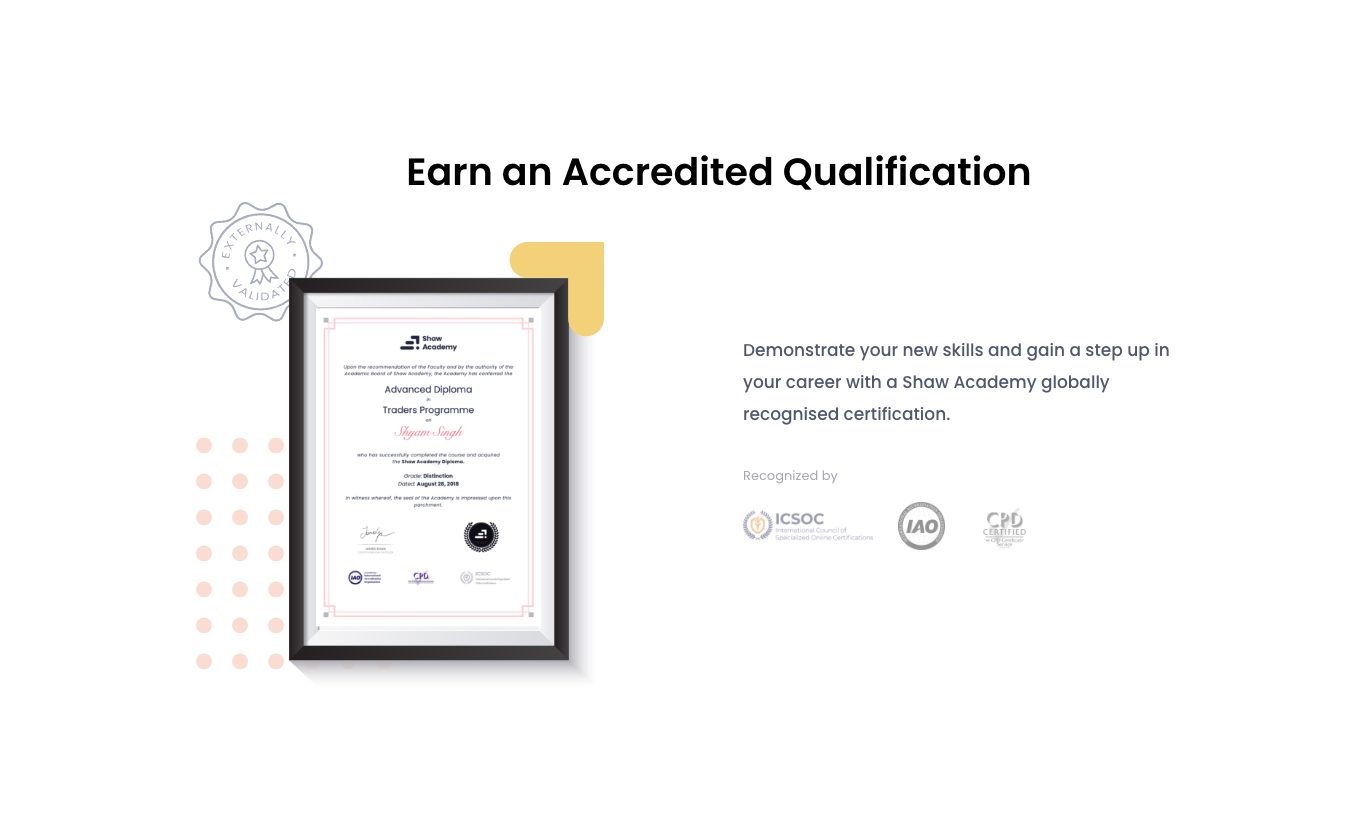 Certificate: Internationally Accredited Online Education Certificate Programs